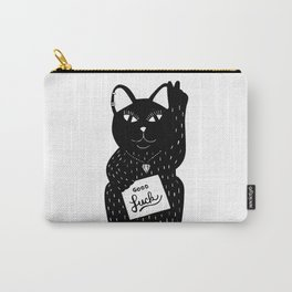 Good Luck Cat! Carry-All Pouch