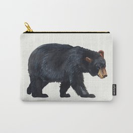 Watercolour Black Bear Drawing Carry-All Pouch