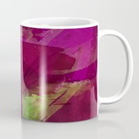 """girly Mugs featuring """"Girly"""" by hayleytheartist"""