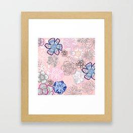 Pretty Florals Framed Art Print