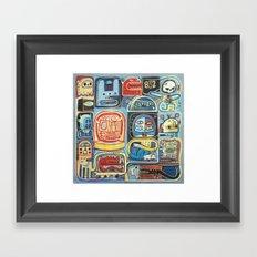 Démon 832 Framed Art Print