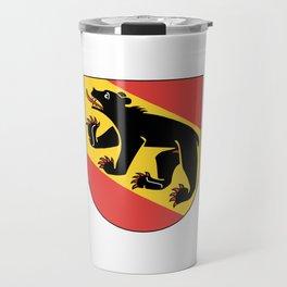 coast of arms of Bern Travel Mug