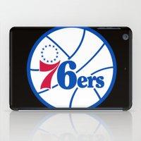 nba iPad Cases featuring NBA - 76ers by Katieb1013