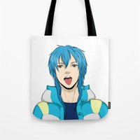 dmmd Tote Bags featuring AOBA by jean-huh-kirschnickerdoodle