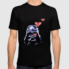 May the force be with you Black MEDIUM Mens Fitted Tee