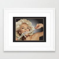 sam smith Framed Art Prints featuring Sam by Robin Curtiss