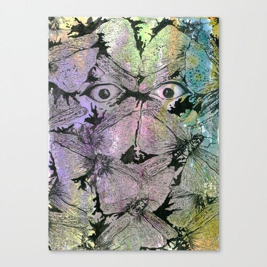 Be Calm Canvas Print