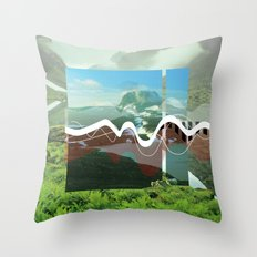 another abstract dream Throw Pillow