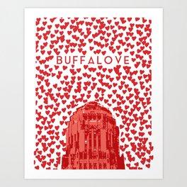 BUFFALOVE Art Print