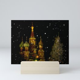 Moscow Night Mini Art Print