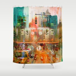 It's Only Mystery Shower Curtain