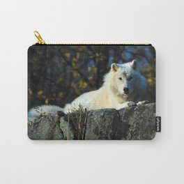 Sentinel: Arctic Wolf Carry-All Pouch