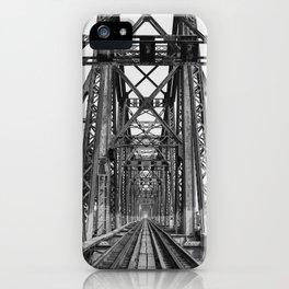 Long Biên Bridge iPhone Case