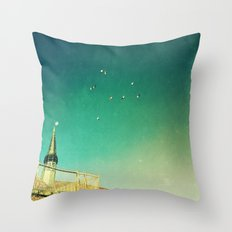 That's Where You'll Find Me... Throw Pillow