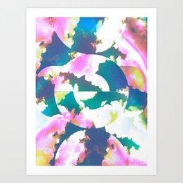 Celestial Cloud Milk Art Print