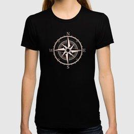Rose Gold Compass T-shirt
