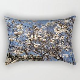 Spring and the City Rectangular Pillow
