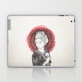Japanese flag and Geisha Laptop & iPad Skin