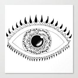 Eye Can't Even. Canvas Print