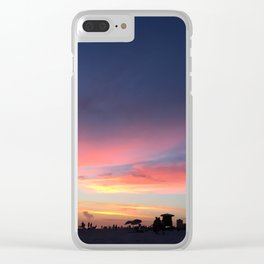 Siesta Key Beach Sunset Clear iPhone Case