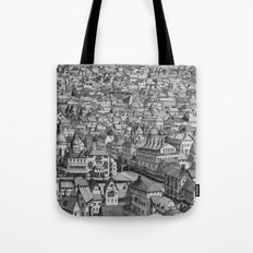La Ville sans Gouttières Tote Bag