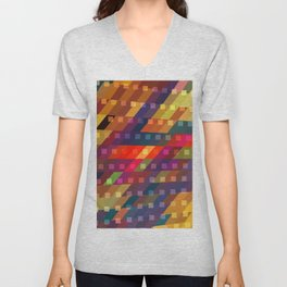 urban light flash Unisex V-Neck