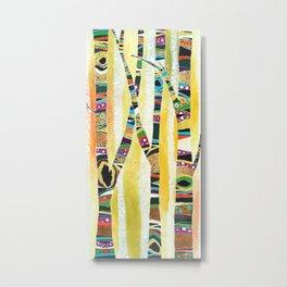 Runk Trees Metal Print