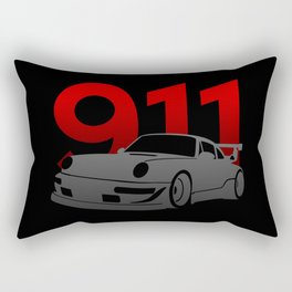 Porsche 911 Rectangular Pillow