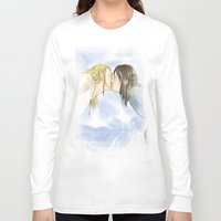 fili Long Sleeve T-shirts featuring Fili and Kili_Escape by JoySlash