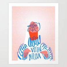 Girl, I Know Girl Art Print
