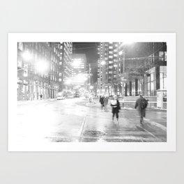 DT Streets Art Print