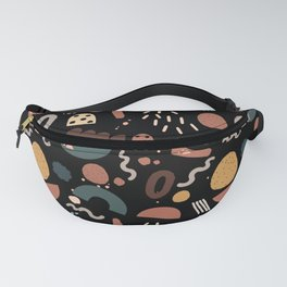 Geo Shapes Luxe Fanny Pack
