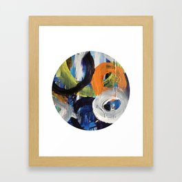 I Don't Care To Recall Abstract Framed Art Print