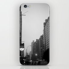 new york city in the rain  iPhone & iPod Skin