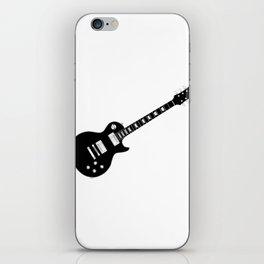 Black Guitar iPhone Skin