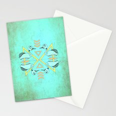 Aztec swan Stationery Cards