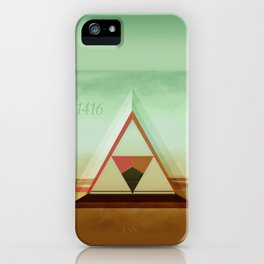 3,1416 iPhone Case