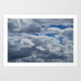 Overcast Art Print