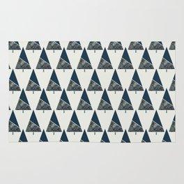 Blue Xmas #society6 #blue #xmas Rug