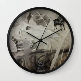 Seek- Landscape Shadowbox Detail Wall Clock