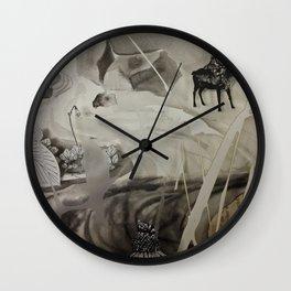 Seek- Landscape Shadowbox Detail Wall Clock