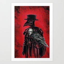 Pandemic buddies  Art Print