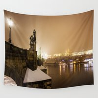 prague Wall Tapestries featuring Prague 6 by Veronika