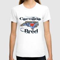 north carolina T-shirts featuring North Carolina Bred by Just Bailey Designs