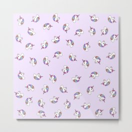 Unicorns Metal Print