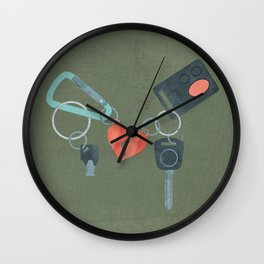 Star-Crossed Lovers Wall Clock
