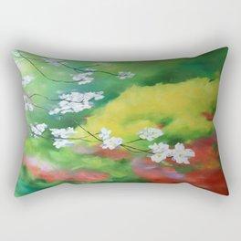 Dogwood Vista Rectangular Pillow