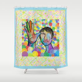 ASL Father for Baby Boy Nursery Shower Curtain