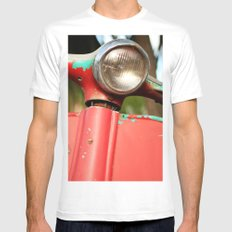 The old scooter - Bambi White Mens Fitted Tee MEDIUM