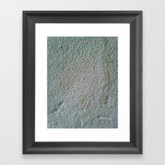 Finca texture Framed Art Print